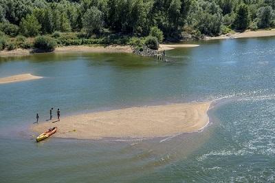 Canoë-kayak sur la Loire